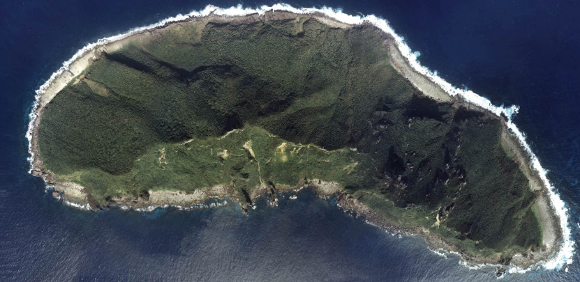 Uotsuri-shima, the largest of the Senkaku Islands